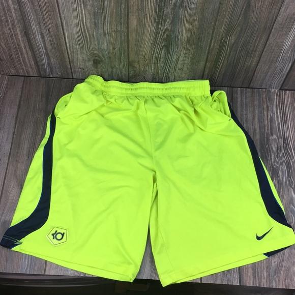 Nike Dri Fit Size XXL Bright Safety Yellow KD's